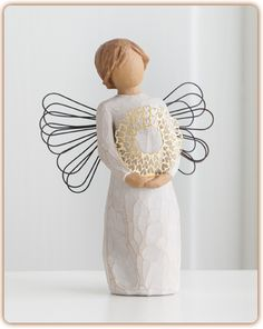 Willow Tree figurine angel-Sweetheart You have a sweet heart!
