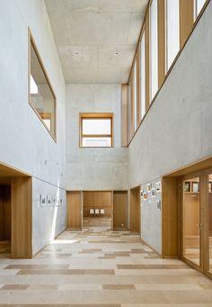 Bernard Quirot architecte + associés — Mairie et périscolaire à Echenoz-la-Méline