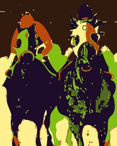 horse-racing-pop-art-Wedding-Colors.jpg (800×1000)