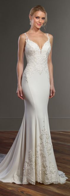 Dress designed by Martina Liana VIEW POST VIEW GALLERY