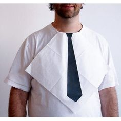 Tie Napkin. Dear Future husband/boyfriend, this will be your christmas present, Sincerely, girlfriend who wishes it was socially acceptable to wear this in public as a female!