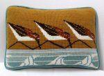 Charley Harper Needlepoint Sanderlings (Out of Stock)
