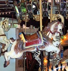 Coolidge Park Carousel Second Row Goat  © Bette Sue Gray