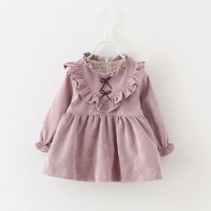 Cool 2017 autumn winter newborn Dress infant baby clothes dress for girl clothing princess party Christmas dresses bebe spring dress - $25.89 - Buy it Now!