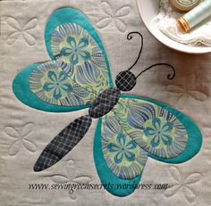 Applique butterfly
