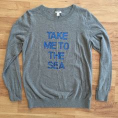 Mermaid take me to the sea sequin top Great condition! Fast same or next day shipping! Open to offers but I don't negotiate in the comments so please use the offer button Tops Tees - Long Sleeve