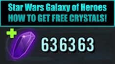38 Best Star Wars Galaxy of Heroes Hack and Cheats images in
