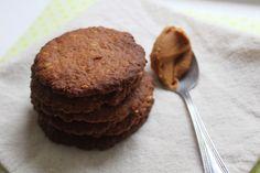 Biscoitos de Aveia e Manteiga de Amendoim