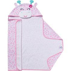 Gerber Newborn Baby Terry Hooded Bath Towels, 2Pack My