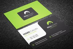 Check out Real Estate Business Card 39 by Arslan on Creative Market