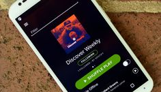 My favorite thing about Monday is hanging out with Jonathan and  listening to our Discover Weekly! Spotify's Discover Weekly uses your habits to recommend new music