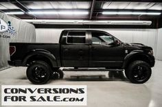 2013 FORD F150 SuperCrew FX4 Tuscany Black Ops Lifted Truck