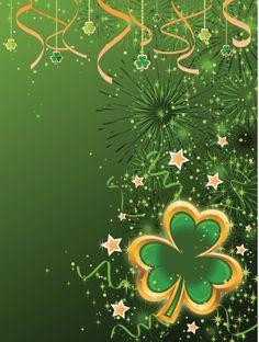 Clover Leaf Background:スマホ壁紙