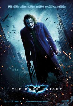 """The Joker in The Dark Knight (Film """"Why so serious?"""" This week, Todd, Joe, and special guest Henry Darowski talk about The Joker in the 2008 film The Dark Knight. Joker Dark Knight, The Dark Knight Poster, The Dark Knight Trilogy, The Dark Knight Rises, Batman Poster, Michael Keaton, Love Movie, Movie Tv, Film Mythique"""