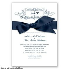 Treasured Jewels Charisma Invitation Invitations By Davids
