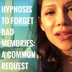 Does it surprise you to know that people often request that I help them forget things? #trauma #lifecoach