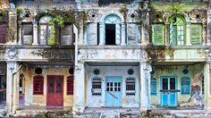 Dilapidated Buildings, Phee Choon Road, Georgetown, Penang