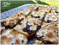 4 Ingredient S'Mores Pound Cake, perfect for a summer potluck or BBQ! Super quick and easy!  @Ann Kukarkina Final #ChooseSmart #ad #cbias