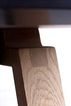 Stół ByKato - drewniany | Designzoo