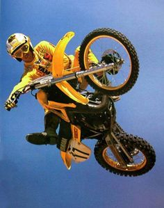 Rick Johnson - Vintage Yamaha Motocross