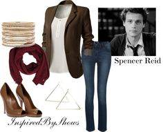 Spencer Reid- Criminal Minds Requested by: http://withgloriousporpoise.tumblr.com/