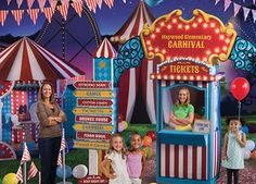 Carnival Spectacular Event Theme