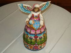 Jim Shore Angel Figure Mother You're An Angel Heartwood Creek w Out Box RARE | eBay