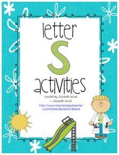 Letter S: Preschool and Kindergarten