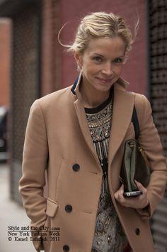 New York Fashion - Meredith Melling Burke  senior market editor us vogue