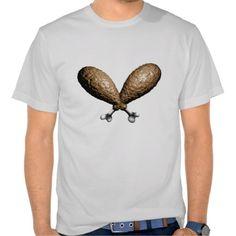 Fried Chicken Crossbones Shirt