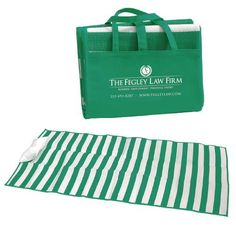 The Fegley Law Firm VIP Beach Mat Gifts.
