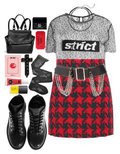 """""""Untitled #1275"""" by meelstyle ❤ liked on Polyvore featuring NoHours, Alexander Wang, Gucci, Fogal, Cara, NARS Cosmetics, Kenzo, Givenchy and Burberry"""