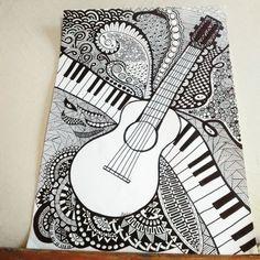 Art Drawings Beautiful, Cool Art Drawings, Pencil Art Drawings, Mandala Art Lesson, Mandala Artwork, Doodle Art Drawing, Mandala Drawing, Dibujos Zentangle Art, Zentangles