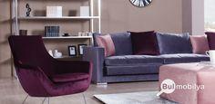 Oturma odası, salon yataksız köşe koltuk Pearl modeli parçaları köşe koltuk, berjer ve puf dan oluşmaktadır. Kadife kumaşın şıklığını evinize taşıyacak bir köşe koltuk modelidir. Arzu ederseniz Pearl köşe koltuğu aynı modelde üretilmiş olan Pearl koltuk takımı ile kombin yapabilirsiniz.