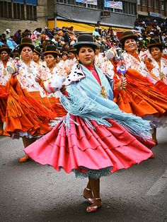 Gran Poder, Bolivia