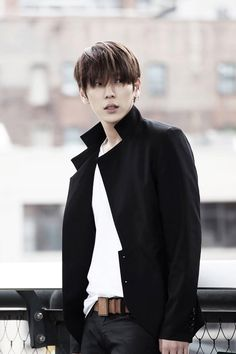 Himchan; this is such a handsome charismatic photo of Channie