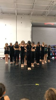 Musical Theater. Dance class. Dancers. All that jazz.