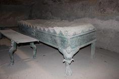 Pompeii - The Brazier located in the Tepidarium...
