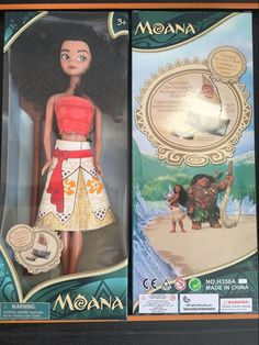 New Kids Personalized Christmas Gifts Moana Adventure Mo Ahna Mona Princess Doll Gift Anime Toy Figures Toys for Children