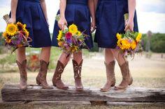 Sunflower Wedding by College Flowers in Lubbock, TX