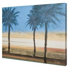coastal palms wall art