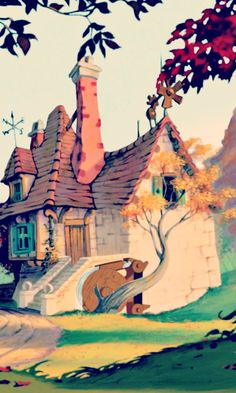 Belles cottage from The Beauty and the Beast 1991