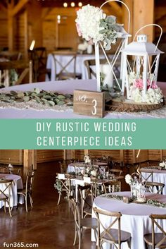 55 best DIY Wedding Centerpieces | Tablescapes images on Pinterest ...