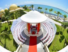 The Gazebo is our favourite spot for a destination wedding in the Riviera Maya.  Photo by Ocean Photo Studio