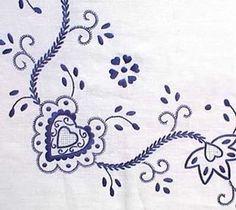 Folk Embroidery Patterns this site has some lovely patterns - Folk Embroidery, Embroidery Patterns Free, Learn Embroidery, Cross Stitch Embroidery, Embroidery Designs, Fun Patterns, Arte Popular, Needlepoint, Needlework