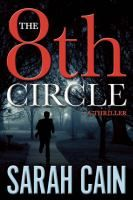 """The 8th Circle by Sarah Cain. A series opener One year after Danny Ryan's wife and young son were killed in an auto accident, he is forced to return to work when his friend is shot and killed outside his home. The last word on his lips is """"inferno,"""" which happens to be the name of an elite sex club in Philadelphia. As Danny gets closer to solving his friend's murder, past investigations come back to haunt him. #MedinaLibrary #SarahCain #NewBooks"""