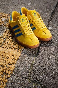 Releasing: adidas Hamburg Tribe Yellow & Bluebird