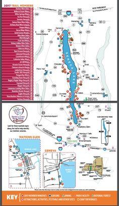 Latest Seneca Lake Wine Trail Map