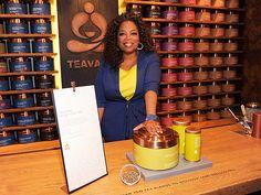 Oprah Winfrey has a new line of tea! http://greatideas.people.com/2014/04/30/taste-test-oprah-winfrey-chai-tea/