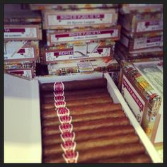 Kleine Auswahl an Romeo y Julieta Zigarren - http://www.noblego.de/romeo-y-julieta-zigarren/